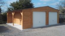 garage avec bucher  ou sans EPAISSEUR 48 MM   DOUGLAS