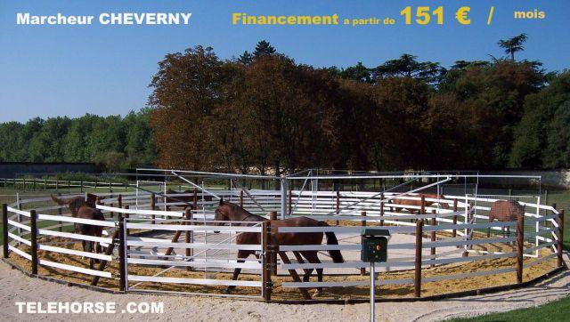 Marcheur Rond Cheverny 6 chevaux TELEHORSE.com