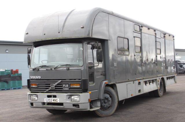 Horsebox NON-HGV Volvo FL6 1990 Used