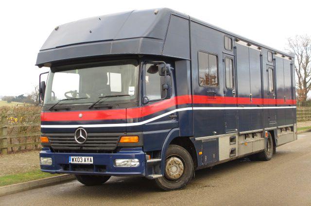 Horsebox NON-HGV Mercedes  2003 Used
