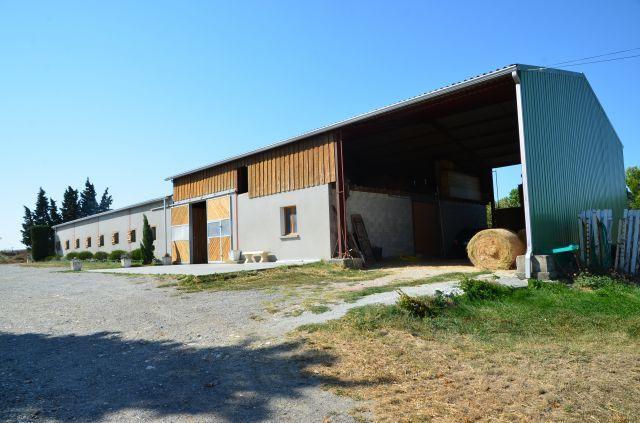Structure équestre entre Castelnaudary et Carcassonne
