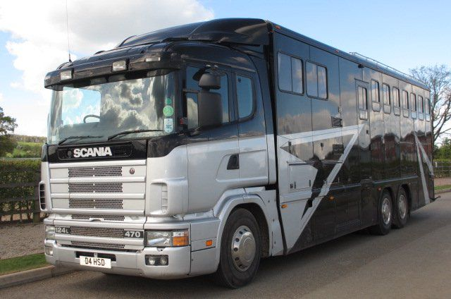 Horsebox NON-HGV Scania  1996 Used