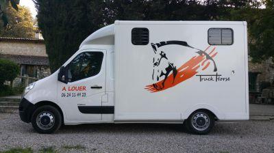 Location camion chevaux-cote d azur