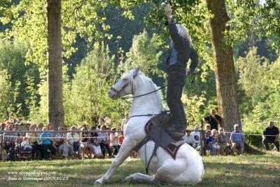 Osario des dieux : cheval crème osario