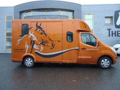 Horsebox HGV Renault PROTEO HARAS RENAULT NEW MASTER DCI 2016 New