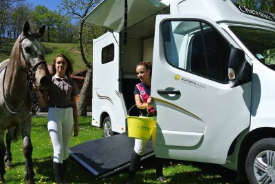 Location camion chevaux - Saison de concours