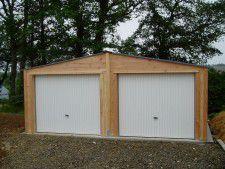 garage 6x6m douglas EPAISSEUR 48MM