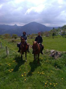 Parc naturel régional des Monts d'Ardèche à Cheval
