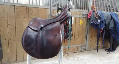 "Jumping saddle Childeric FXL 17.5"" 2011 Used"