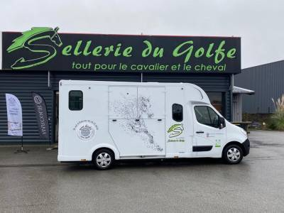 Horsebox HGV Theault Proteo - stalles individuelles rallongées 2018 New