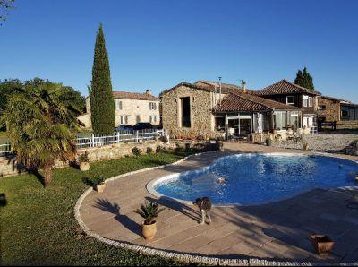 Propriété de 57 hectares en occitanie