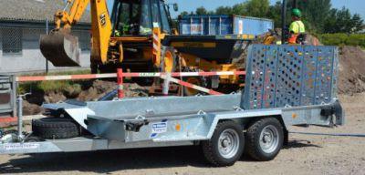 Ifor williams - porte engin - gh 126 - 3 500kg