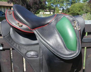 """Endurance saddle Gaston Mercier Margeride 16.5 {#inches#}"""" 2019 New"""