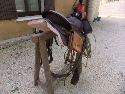 Vends selle de cheval Western