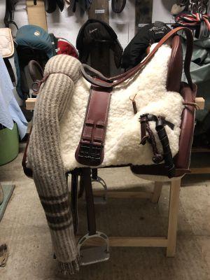 """Vaquera saddle Zaldi  17.5 {#inches#}"""" 2019 New"""