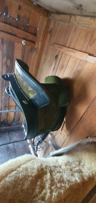 "Portuguese saddle Marjoman  17 {#inches#}"" 2010 Used"