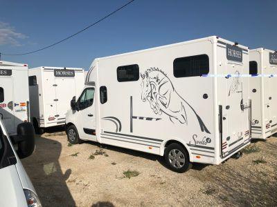 Camión Caballos hasta 7.5MMA  Trans Box Svelto3 et 4 / RM08 2019 Nuevo