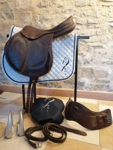 "General purpose saddle Antarès  17.5 {#inches#}"" 2014 Used"