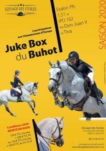 "Saillie ""JUKE BOX DU BUHOT"" 1M51 PFS IPO162"