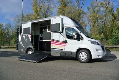 Horsebox HGV Ameline HARAS 3P CAB PROFONDE 2020 New