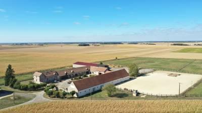 Ferme de la Brie avec installations équestres - 5,5 ha