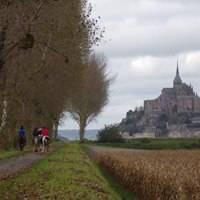 Randonnée en baie du Mont st Michel