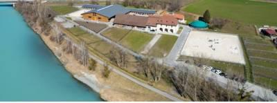 Pensions chevaux au Domaine du Rhône, Bex, Vaud