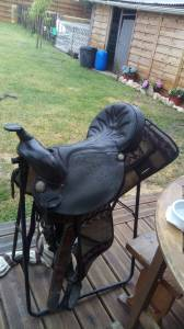 """Western saddle Kings  18.5 {#inches#}"""" 1995 Used"""