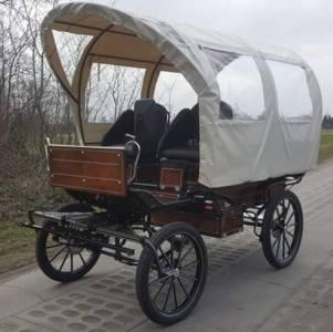 Wagonnette 8 places neuve avec toit garantie