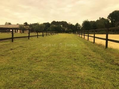 Domaine equestre et habitation 20 ha sud touraine