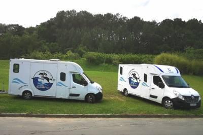 Location camion pour chevaux Biarritz