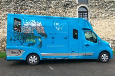 Location camion pour chevaux larringes