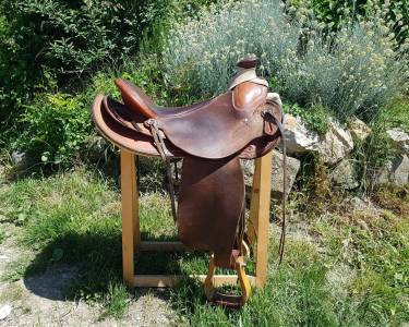 Oldtimer saddle