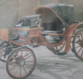 Carriage - Calèche Pouvreau Victoria