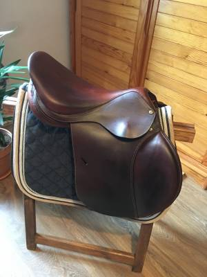 """General purpose saddle Forestier  17 {#inches#}"""" 2016 Used"""