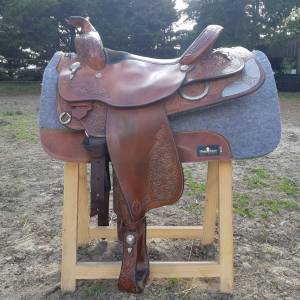 """Western saddle Other Circle Y équitation  15.5 {#inches#}"""" 1995 Used"""