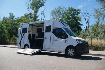 Kleine paardenvrachtwagen (B rijbewijs) Ameline HARAS 3P 2020 Nieuw