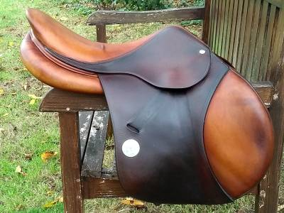 """Jumping saddle Meyer  17 {#inches#}"""" 2012 Used"""