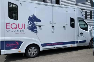 Location camion pour chevaux canteleu