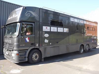 Zware paardenvrachtwagen (groot rijbewijs) Mercedes Actros 2007 Tweedehands
