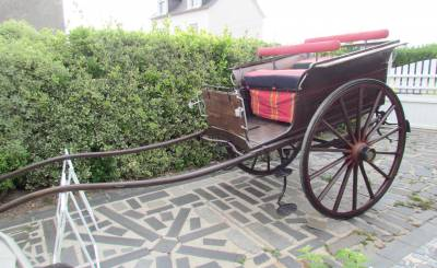Carriage - Charabanc  Cariole anglaise