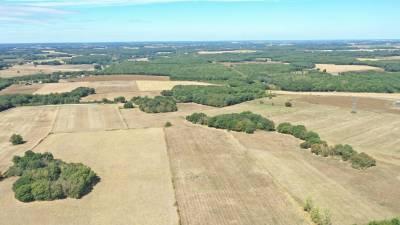 Terrain agricole de 47,8 ha – le blanc