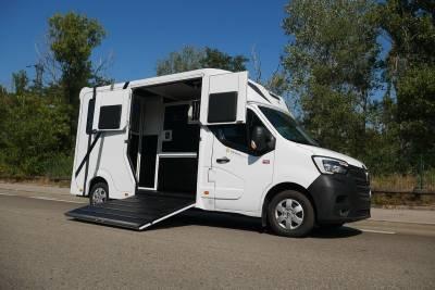 Camion chevaux - Haras Light 3P - Renault 165 CV - BM