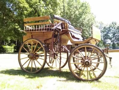 Coche enganches - Vagoneta  Wagonnette