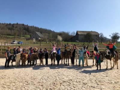 Monitor de equitación - Contrato fijo Tiempo completo - Alta Saboya Francia