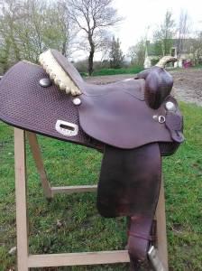 Selle western type reining