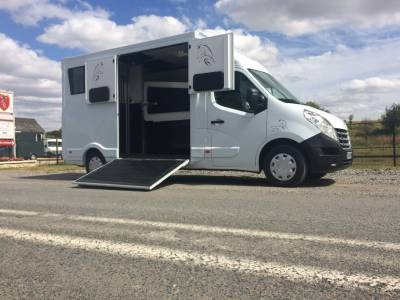 Renault Master L3 Stall - Transport chevaux