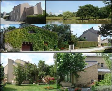 7.5ha: maison + atelier +etang +prairies + bois