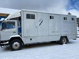 A vendre camion a chevaux de 4 ou 5 places