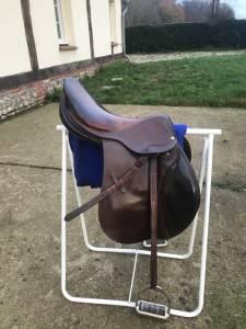 Selle d'équitation bruno delgrange
